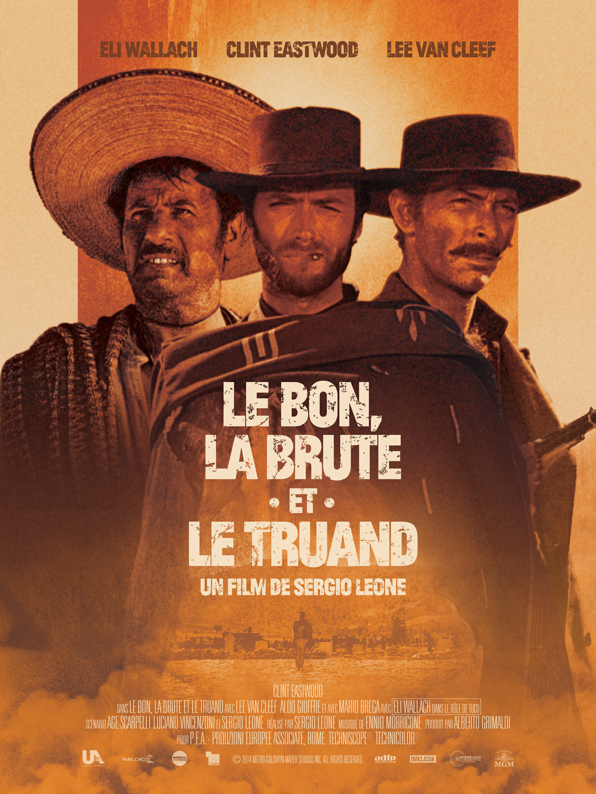 Le Bon, la Brute et le Truand FRENCH movie poster