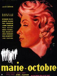 Marie-Octobre affiche