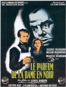 Le parfum de la dame en noir dvdtoile - Le mystere de la chambre jaune resume ...