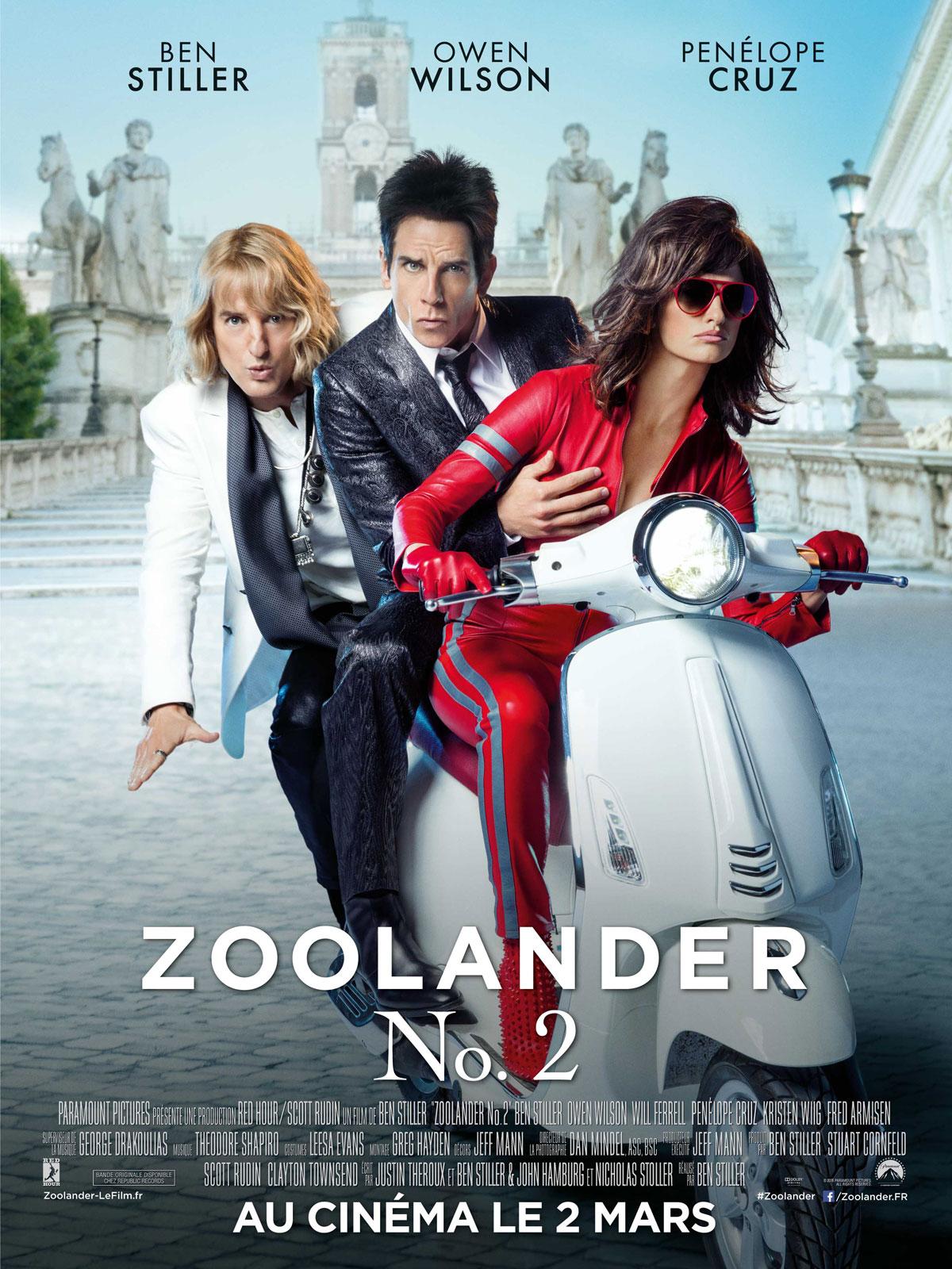 Bien-aimé Zoolander 2 - DvdToile AM04