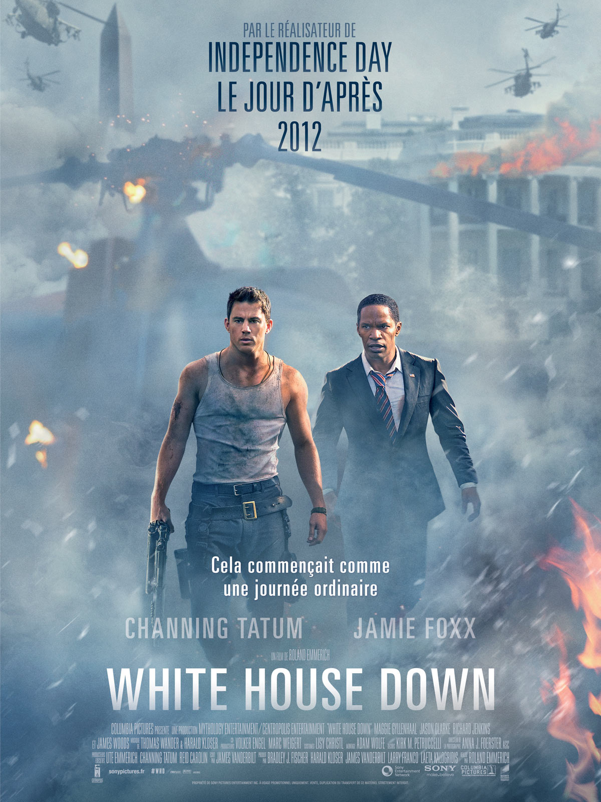 White House Down Dvd Galerie de photos