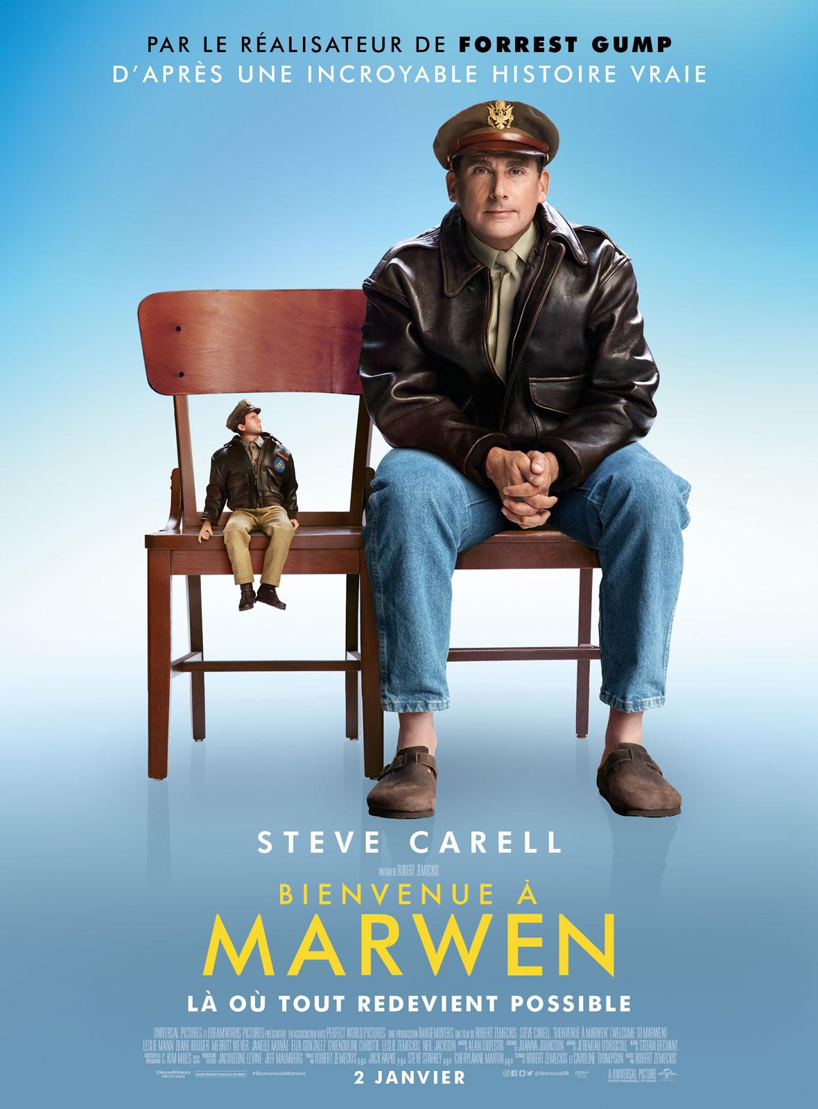 Bienvenue à Marwen DvdToile